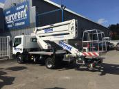 Nieuw in ons gamma! Hoogwerker op vrachtwagen Isoli PNT 220NLX RIJBEWIJS B